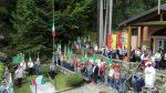 Gruppo Alpini Vissone Montecampione, inaugurazione Ceppo