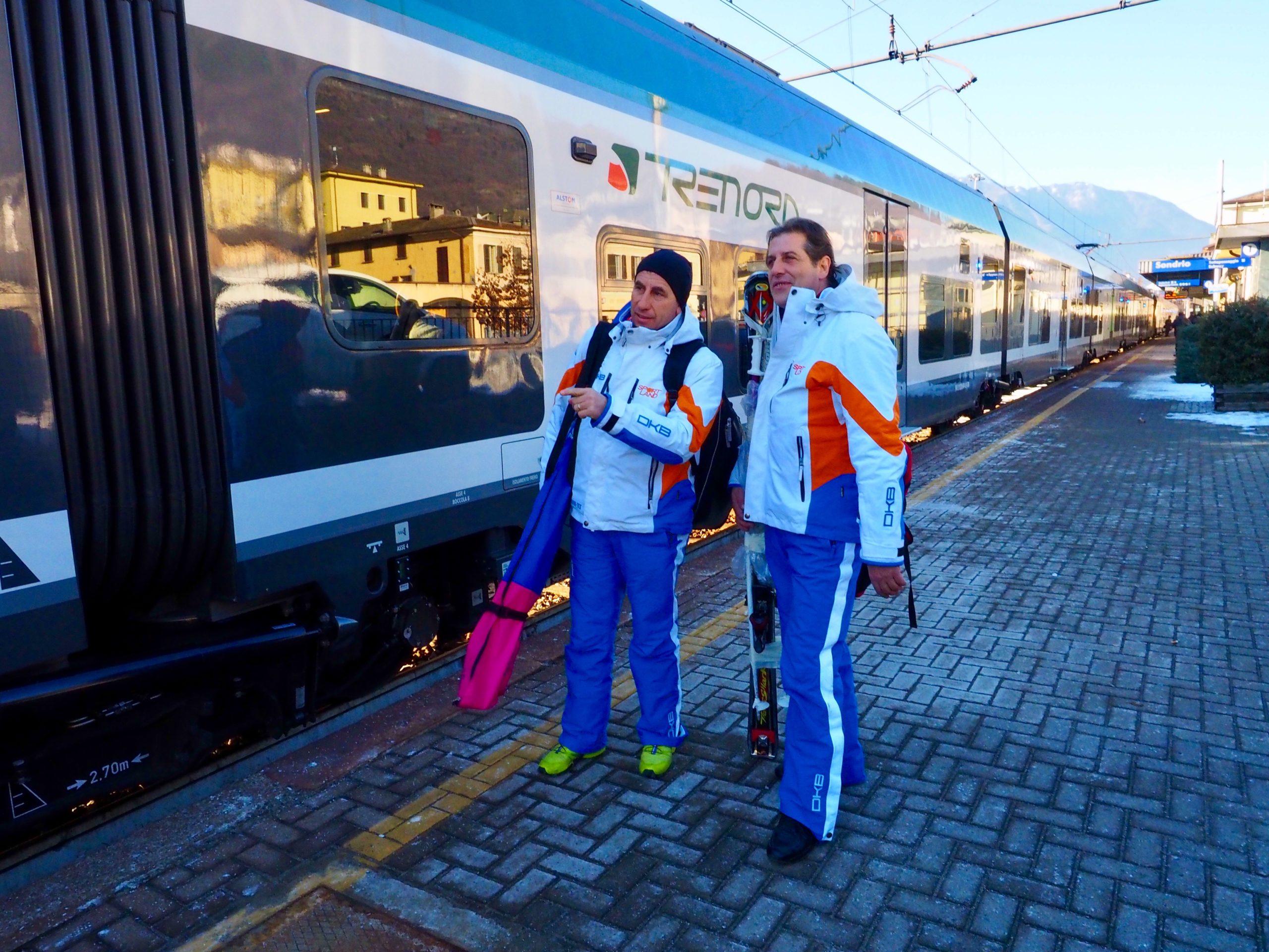 Radio Lombardia – Trenord, treni speciali per la Giornata mondiale della Neve