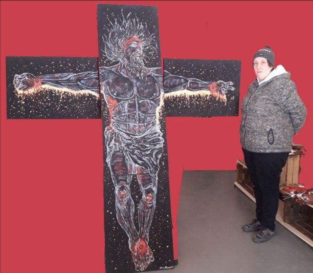 """MyValley – L'opera """"Gesù Cristo"""" all'asta per aiutare l'Ospedale di Esine"""