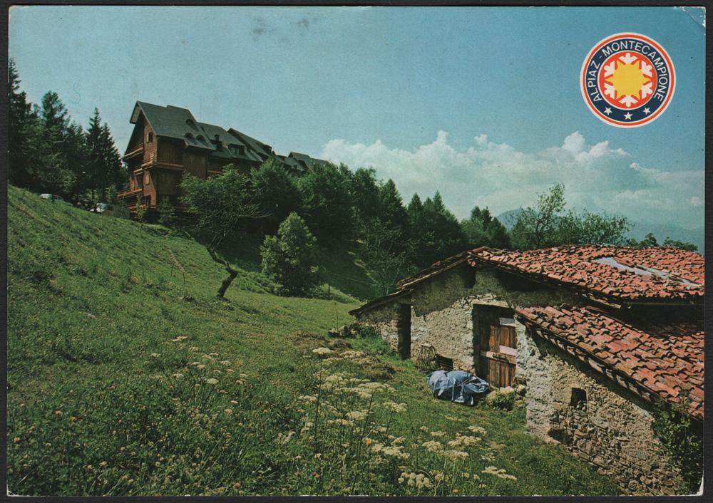 La cartolina del martedì – Montecampione m. 1200-2000 Valle Camonica (BS) Tel. (0364) 55193-4-5 edita da Fotoedizioni G. CARMINATI – ZOGNO (Bergamo)