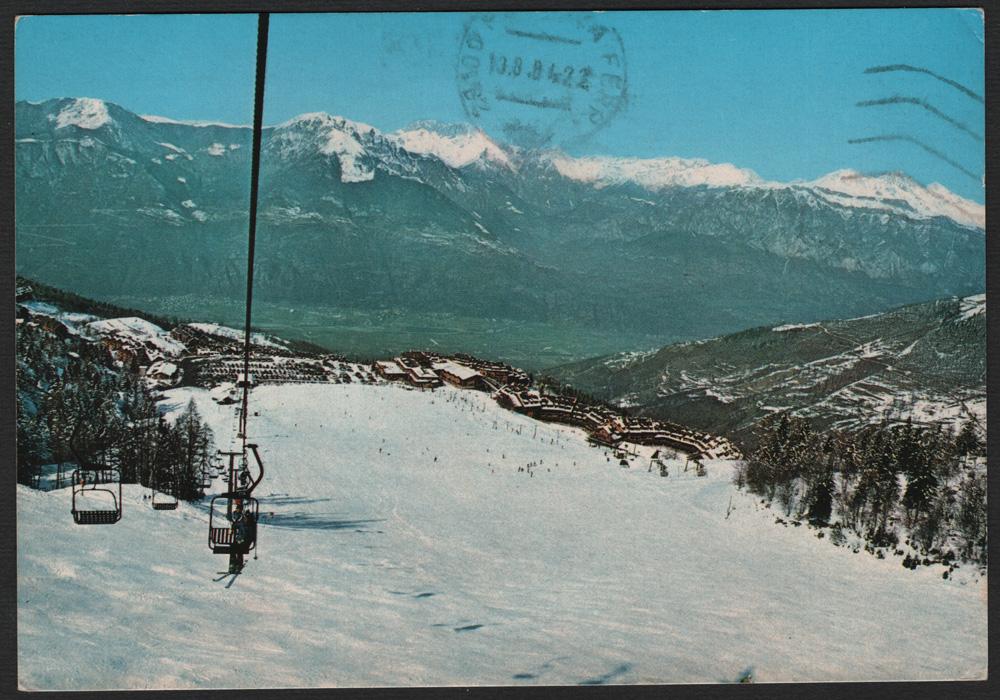 La cartolina del martedì – ALPIAZ MONTECAMPIONE (BS) m. 1200 – 2000 Panorama edita da Ediz. Foto Libero Lacenere – Breno (BS)