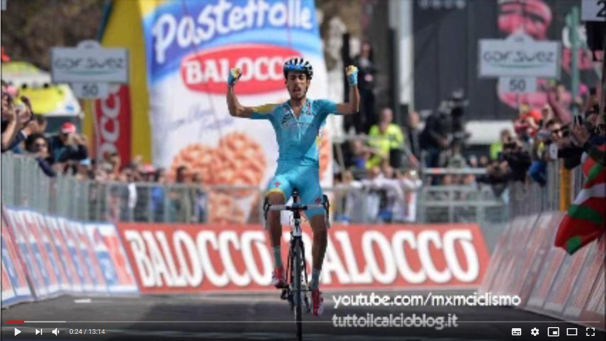 Oggi è venerdì ed allora? Youtube – 2014, Giro d'Italia alla Radio: Arrivo 15° Tappa (VALDEGNO-PLAN DI MONTECAMPIONE) da Radiouno RAI