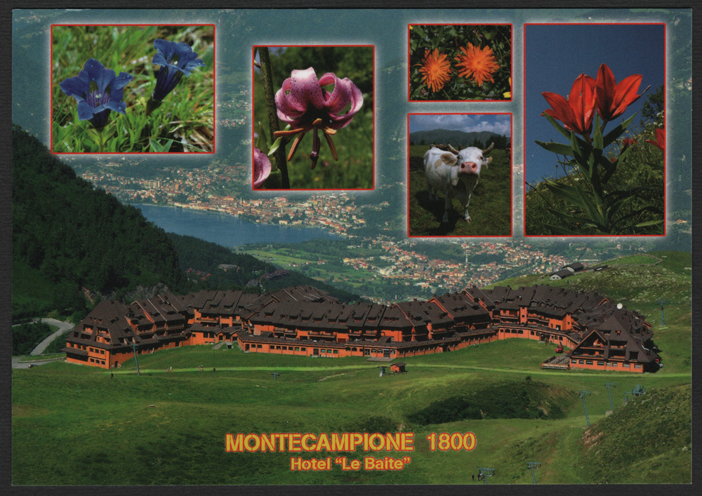 "La cartolina del martedì – MONTECAMPIONE 1800 Hotel ""Le Baite"" Montecampione Vallecamonica (BS)"