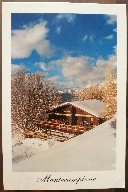 La cartolina del martedì – Montecampione MONTECAMPIONE Vallecamonica (BS) edita da Foto: Paolo Scarsi