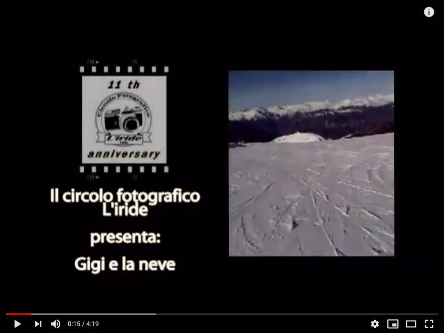 Oggi è venerdì ed allora? Youtube – 2009, Video reportage di Gigi e la neve a Montecampione Valcamonica Brescia Italia (®ggg65)