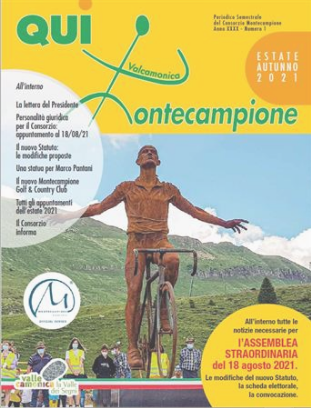 """Consorzio Montecampione – E' uscito il nuovo numero estivo 2021 di """"Qui Montecampione"""""""