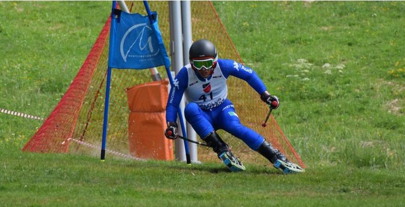 FISI FVG – Anziutti 6° nello slalom e 7° in gigante ai Campionati Italiani di sci d'erba