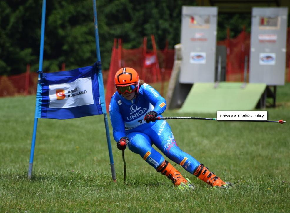 Fisi Veneto – Tricolori di sci d'erba, argento per Mazzoncini in slalom. Saviane ai piedi del podio